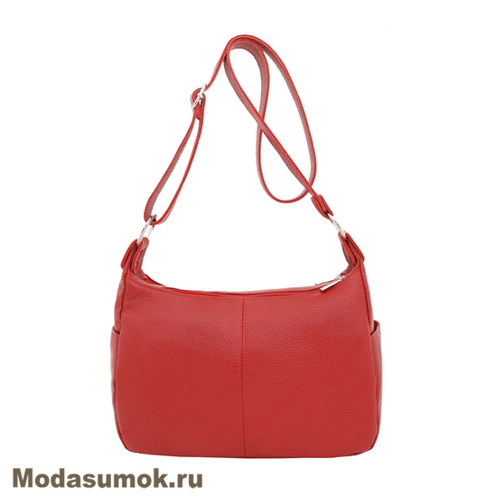 852cea3cf104 Женская сумка из натуральной кожи Protege Ц-266 красная купить в ...