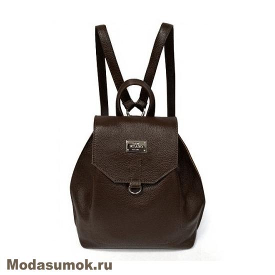 6d66d54be161 Женский рюкзак из натуральной кожи BB1 - 940116 темно-коричневый ...