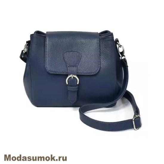 d837ac6c9738 Сумка женская из натуральной кожи A.Valentino - 455 синяя купить в ...