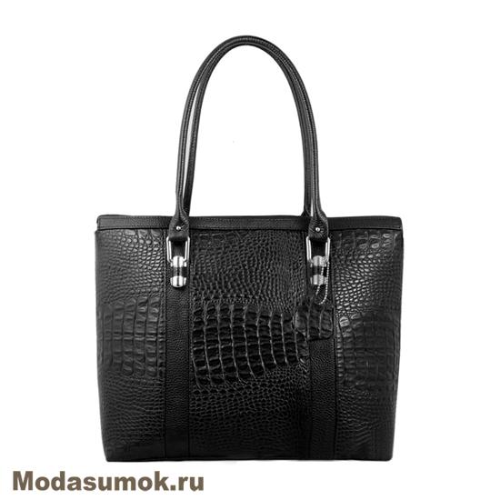 b20f56611ee8 Женская сумка из натуральной кожи L-Craft L 49 черная купить в ...