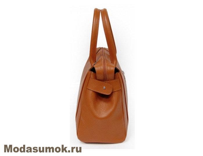 869b5ed6c08e Сумка из натуральной кожи A.Valentino - 439 рыжая купить в ...
