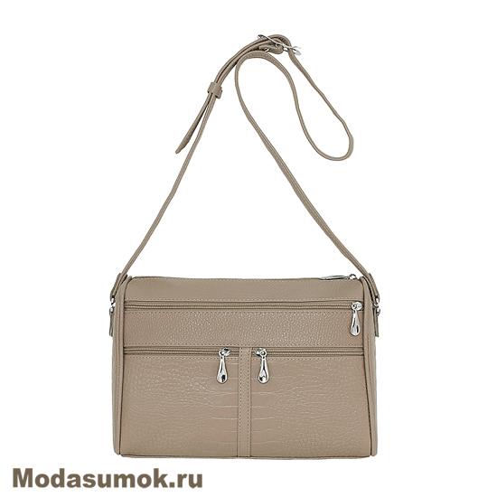 50950cf191c9 Женская сумка из натуральной кожи Protege Ц-312 капучино купить в ...
