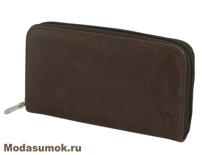 676630def383 Клатч мужской -портмоне из натуральной кожи Dimanche 782 коричневое ...