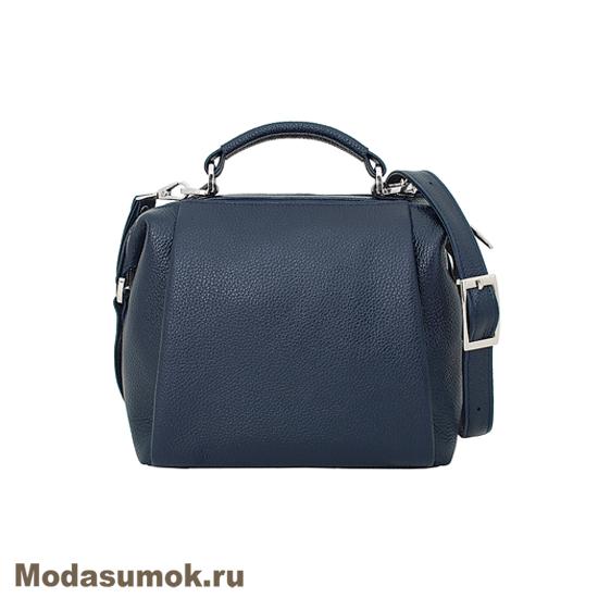689f6eb8f5b6 Женская сумка из натуральной кожи Protege Ц-329 синяя купить в ...