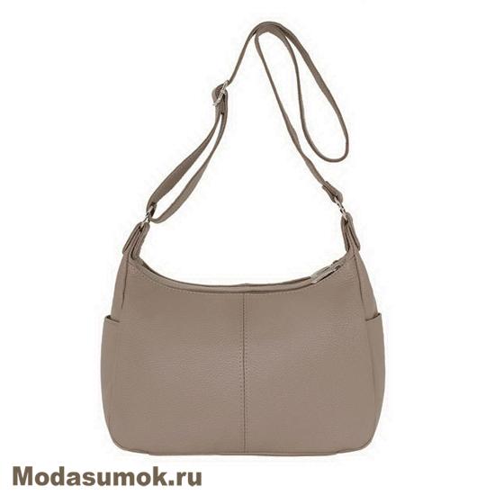 b4a215d96955 Женская сумка из натуральной кожи Protege Ц-266 капучино купить в ...