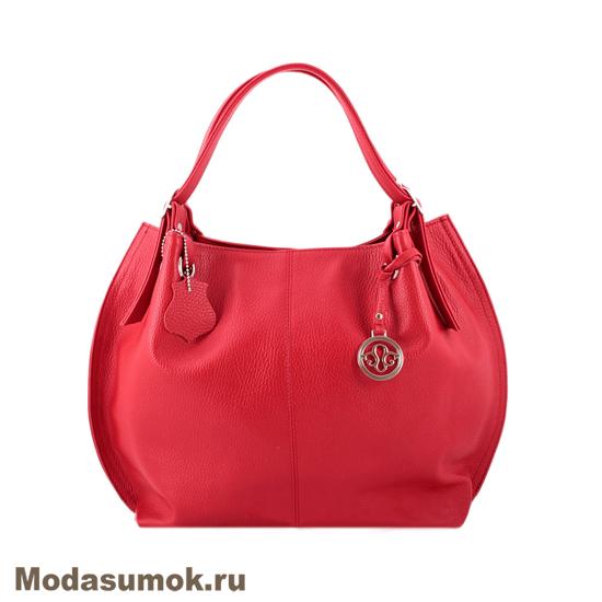 40e21b5ce0c7 Женская сумка из натуральной кожи L-Craft L 55 красная купить в ...