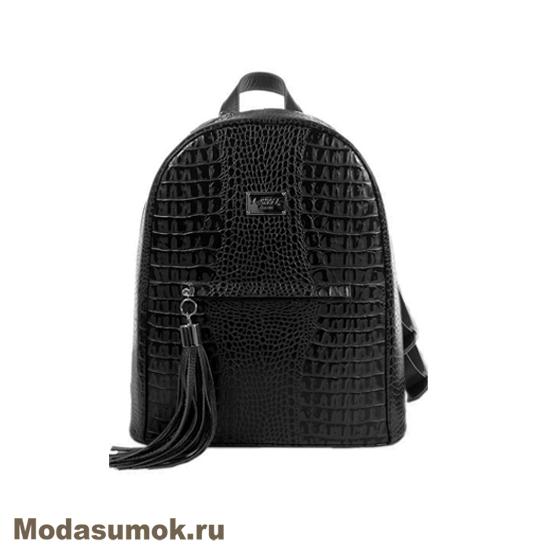 72fc467c3b3c Женский рюкзак из натуральной кожи L-Craft L 90 чёрный купить в ...