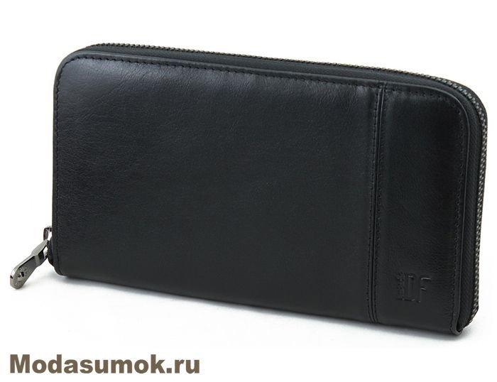 232380826836 Клатч мужской -портмоне из натуральной кожи Dimanche 294 черное ...